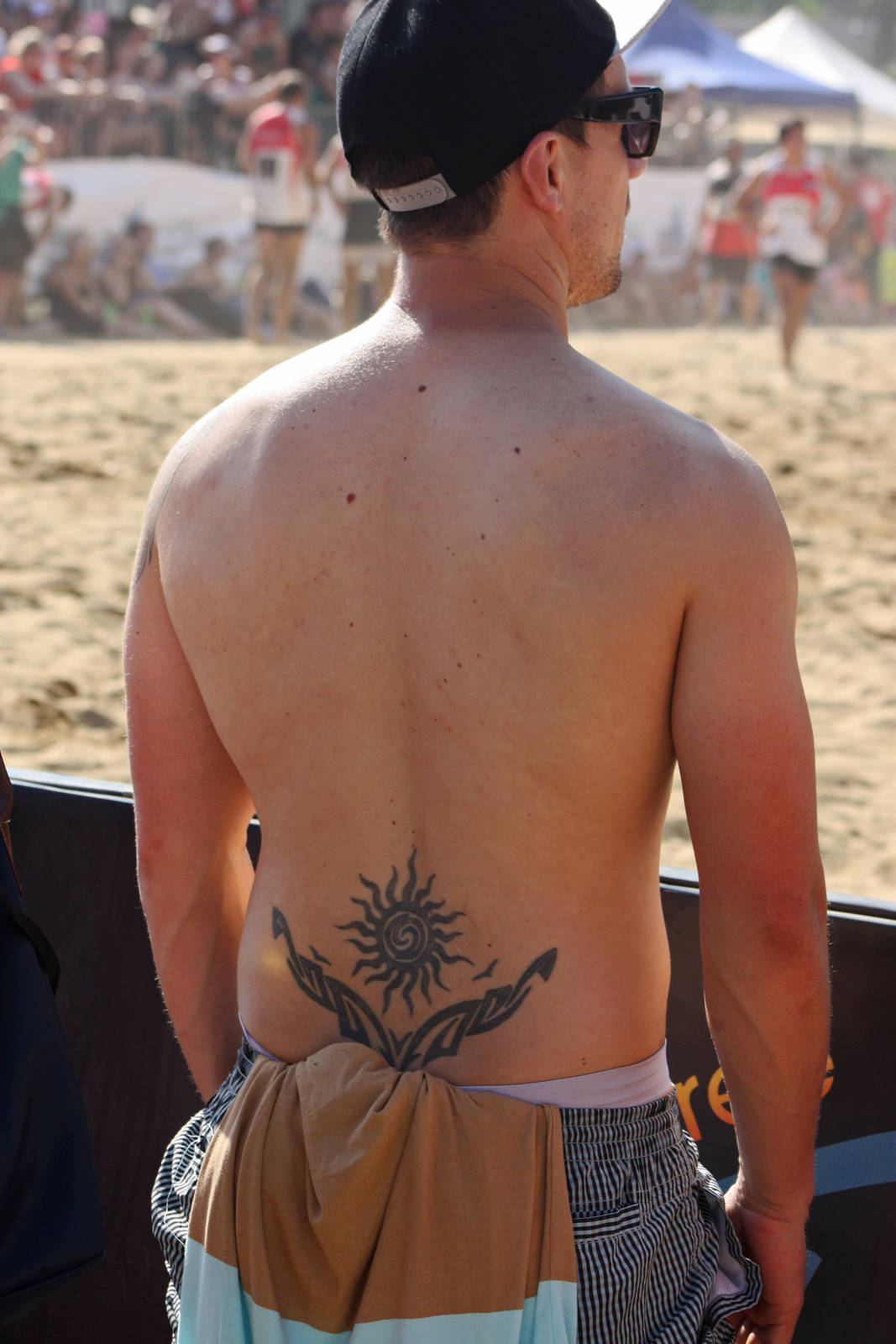 Give it 20 years, and this tattoo will practically be invisible. Photo: Flickr